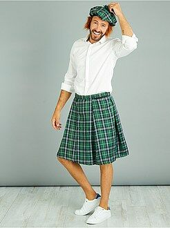 Déguisement homme - Kilt écossais