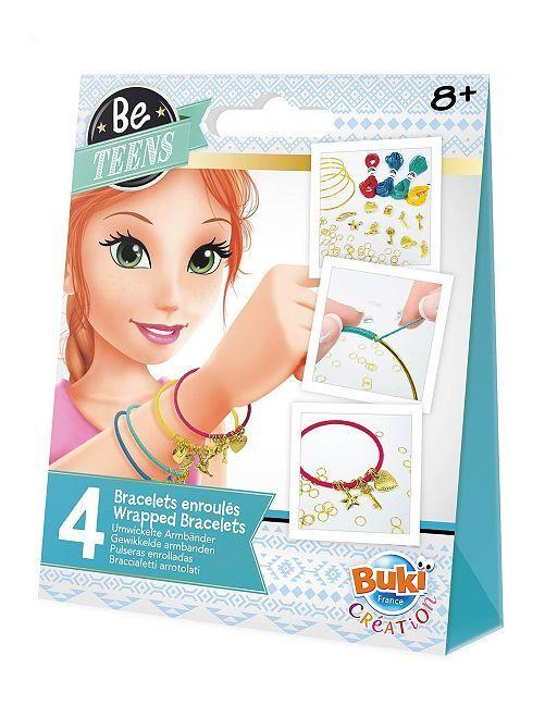 Kit création bracelets enroulés                             multicolore