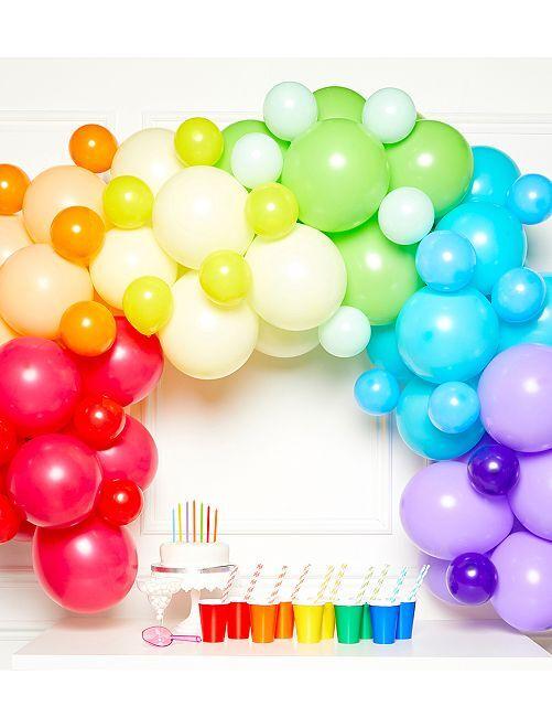 Kit de 78 ballons pour arche                             multicolore
