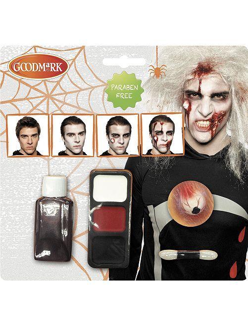 Kit maquillage zombie                             blanc