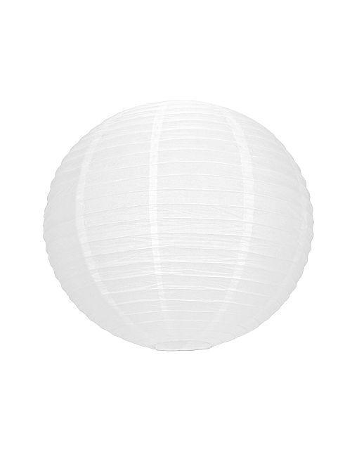 Lampion en papier 50 cm                             blanc
