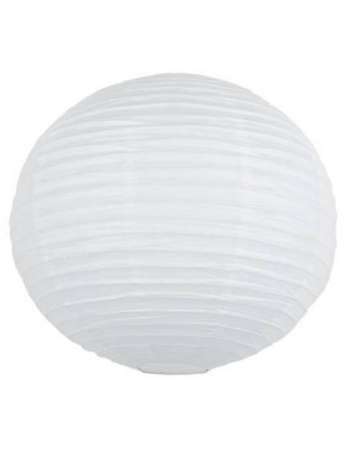 Lanterne chinoise en papier 15cm                                                                                         blanc Linge de lit