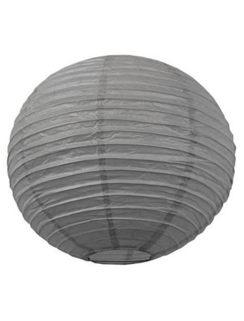Lanterne chinoise en papier 15cm                                                                                                     gris Linge de lit