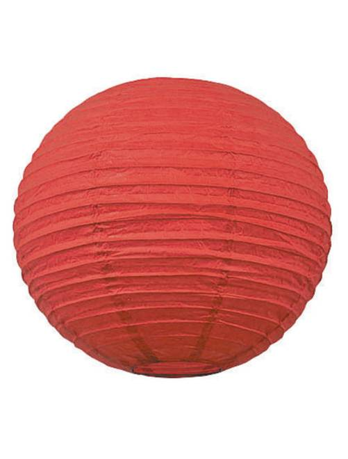 Lanterne chinoise en papier 35cm                                                                                                     rouge