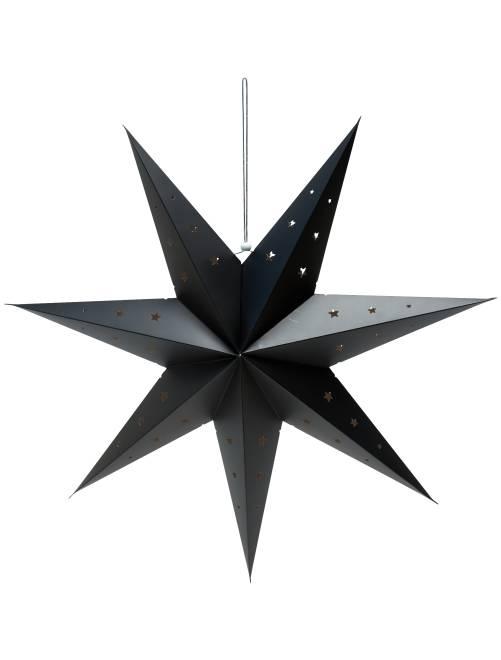 Lanterne étoile 70 cm                             noir Linge de lit