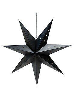 Déco textile - Lanterne étoile 70 cm