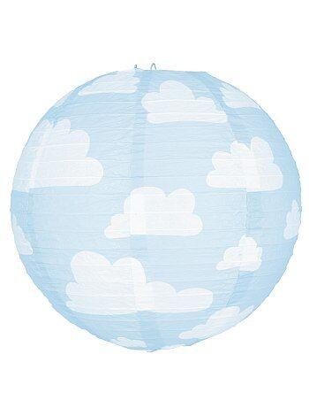 Décoration, animation - Lanterne nuages en papier - Kiabi