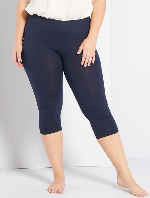 Legging court                                 bleu marine