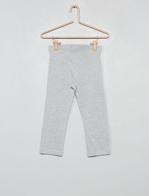 Legging court stretch                                                                             gris