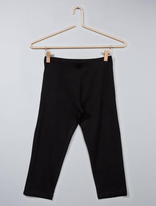 Legging court uni                                         noir