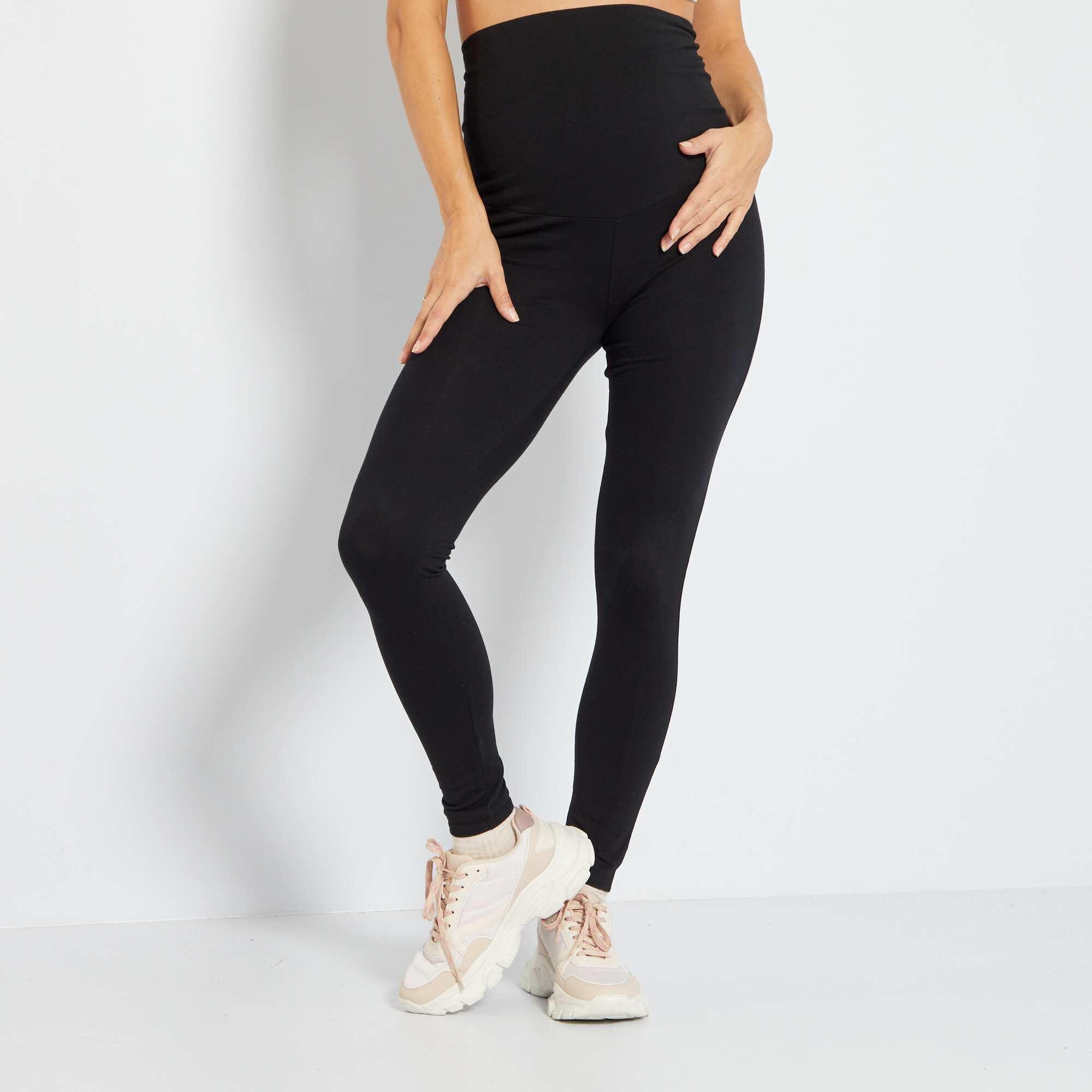 Couleur : noir, bleu marine, ,, - Taille : 42/44, 46/48, 34/36,38/40,Une maille douce et agréable ! - Legging taille élastique. Notre mannequin porte
