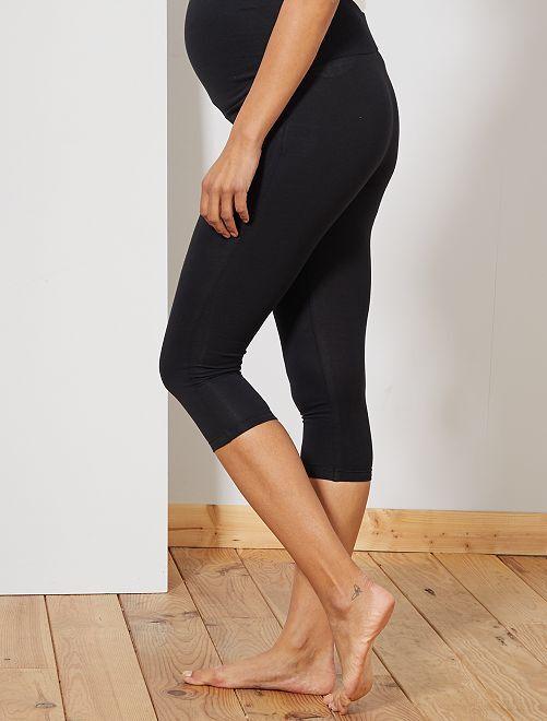 Legging de maternité maille extensible                                                     noir Vêtement de grossesse
