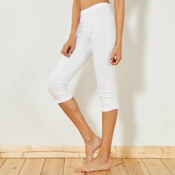 legging sport blanc femme