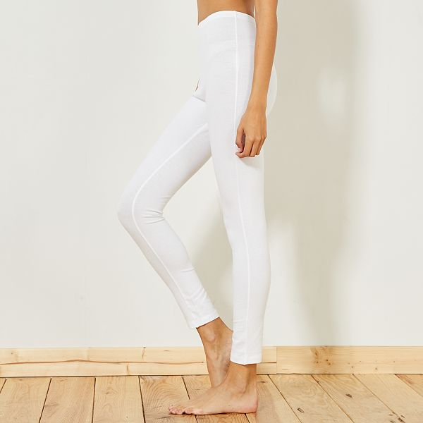legging sport blanc