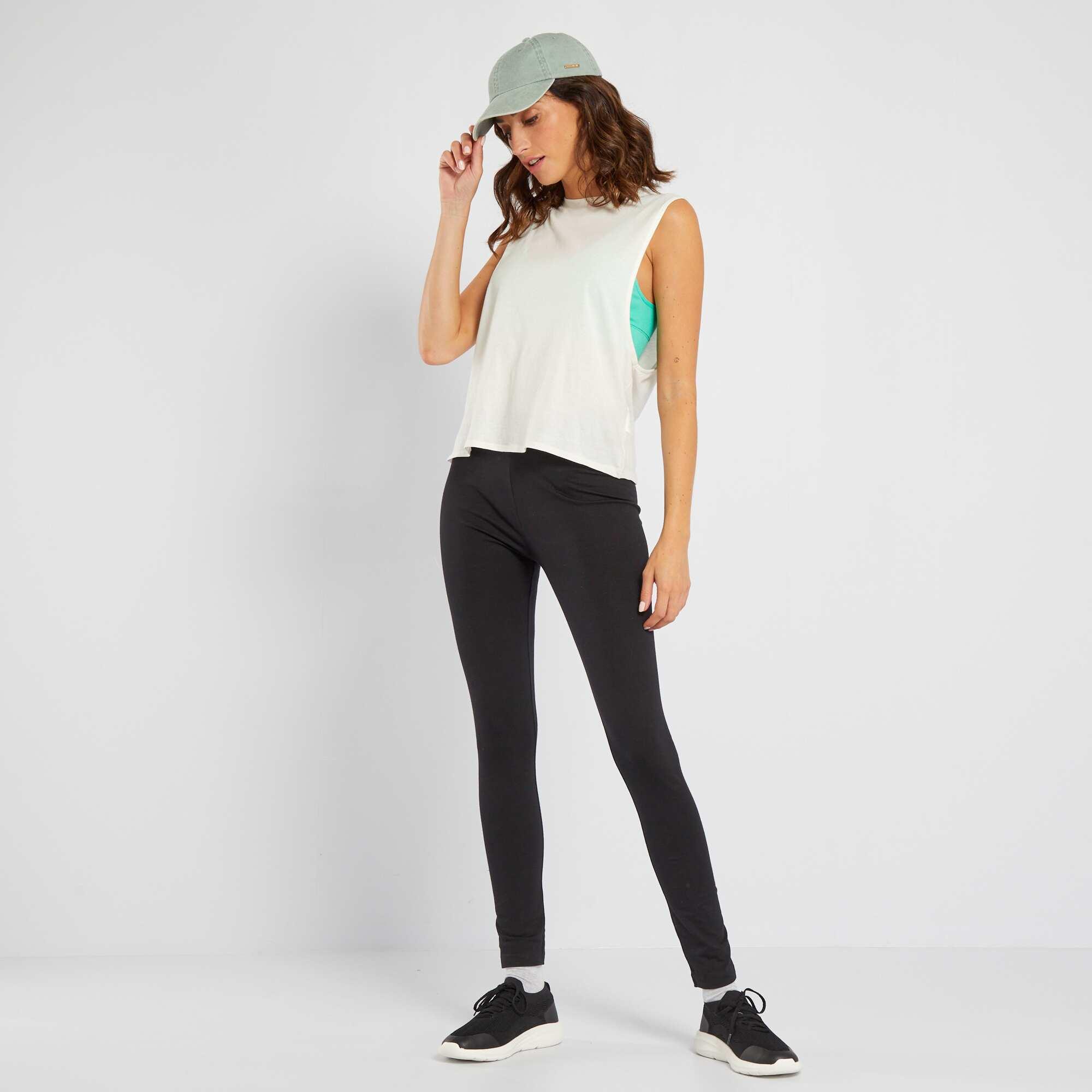 Couleur : noir, , ,, - Taille : XL, M, S,L,Tout confort, il est parfait pour la liberté de nos mouvements lors de l'exercice ! -