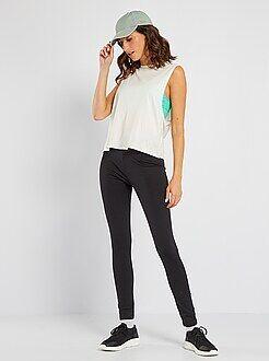 pantalon de sport legging pantalon jogging short de sport femme kiabi. Black Bedroom Furniture Sets. Home Design Ideas