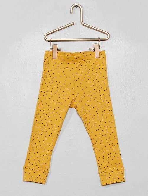 Legging 'Eco-conception'                                                                                         jaune