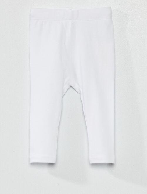 Legging éco-conçu                                                                                                                             blanc