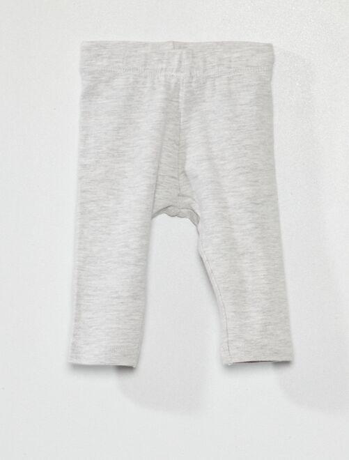 Legging éco-conçu                                                                                                     gris clair