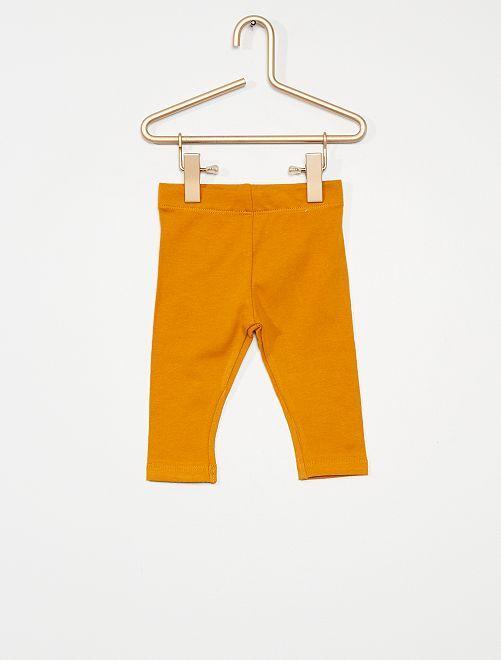 Legging éco-conçu                                                                                                                                         jaune