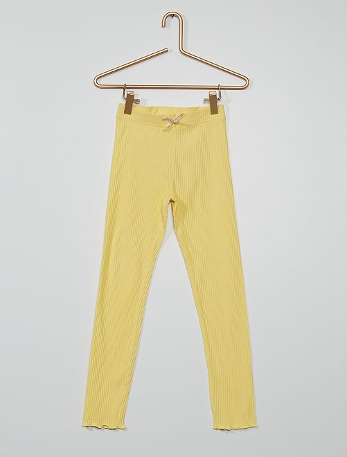 Legging éco-conçu                                                                 jaune doux
