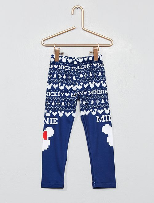 Legging fin 'Minnie'                                         bleu marine Fille