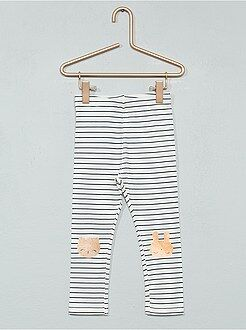 Pantalon, jean, legging - Legging imprimé coton stretch