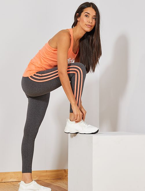 Legging large élastique 'adidas'                                         gris Femme