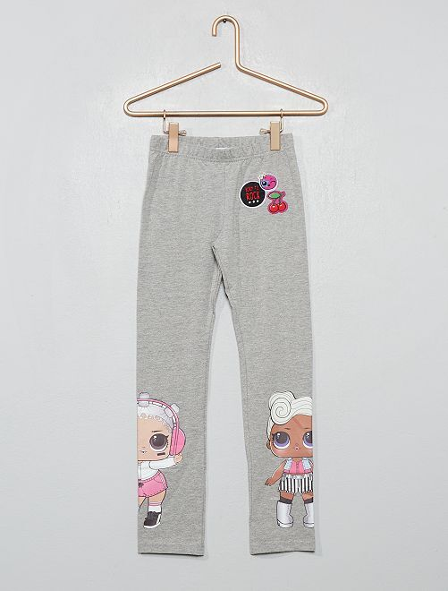 Legging 'L.O.L. Surprise !'                             gris chiné