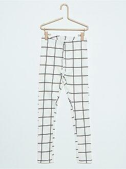 Legging long à motifs