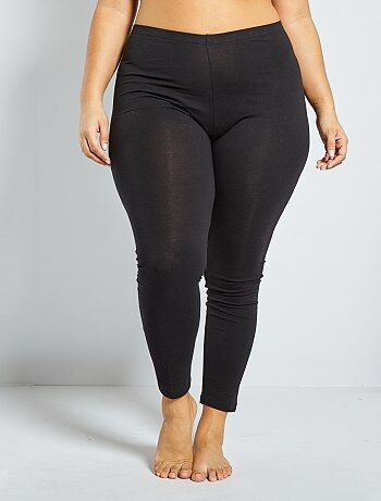 Legging long coton stretch - Kiabi