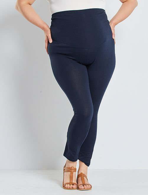 Legging long de maternité                                         bleu marine