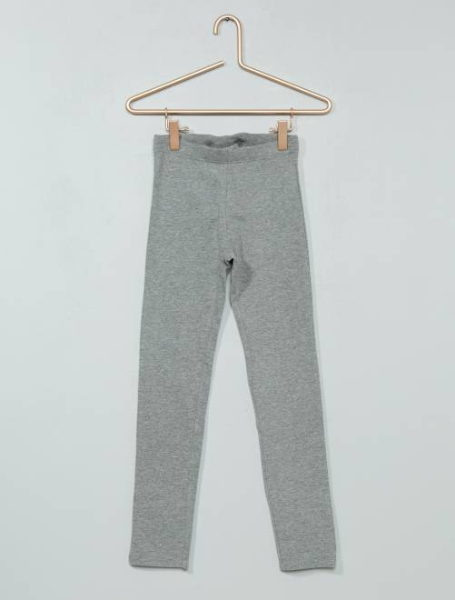 Legging long stretch                             gris