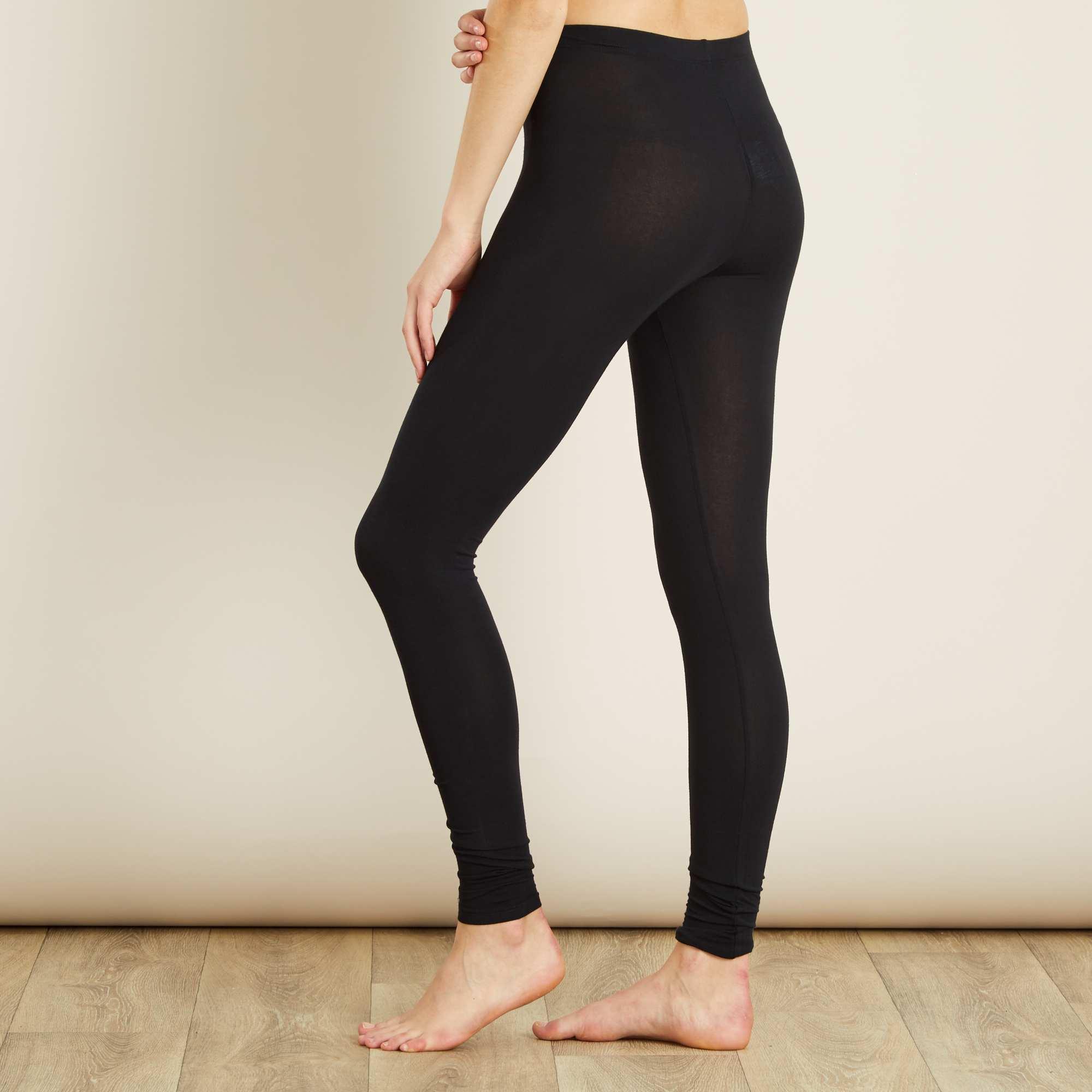 newest collection 95f15 4e395 legging-long-stretch-noir-femme-dx534 3 zc1.jpg