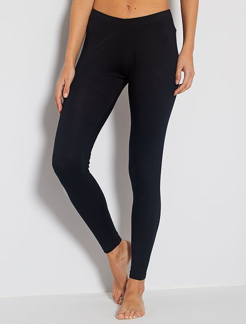 Legging long stretch                             noir