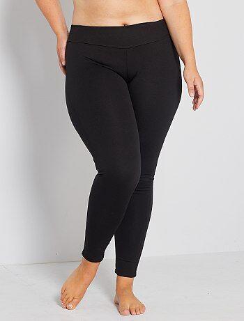 legging maille galbante grande taille femme kiabi 20 00. Black Bedroom Furniture Sets. Home Design Ideas