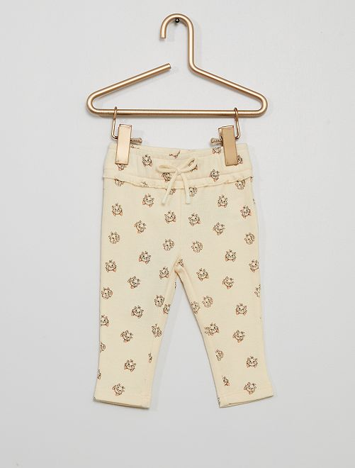 Legging 'Minnie' éco-conçu                     blanc