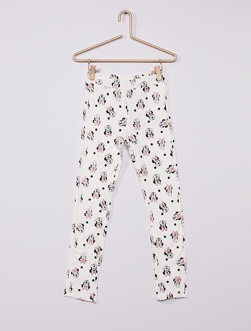 Legging 'Minnie'                                                     blanc