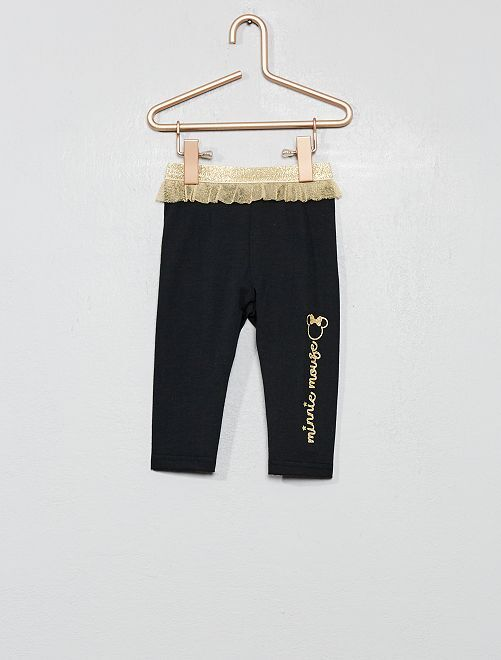 Legging 'Minnie' ceinture tulle                                         noir