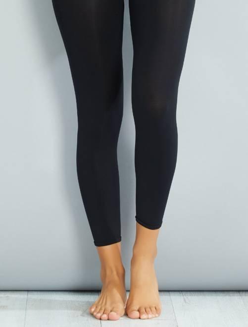 Legging opaque 120D                             noir Lingerie du s au xxl
