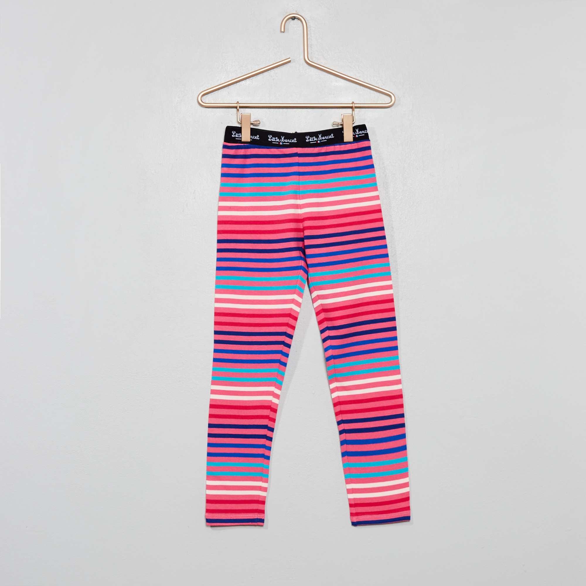 02ec06edb933c Legging rayé 'Little Marcel' Fille - Kiabi - 10,00€