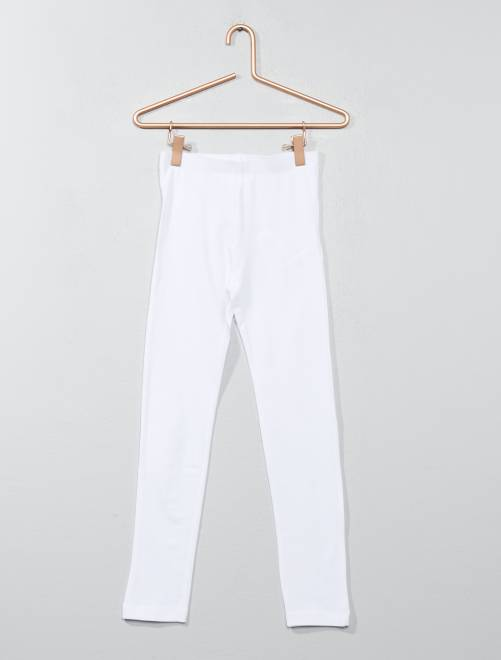 Legging stretch                                                                                         blanc