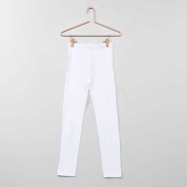 legging blanc fille