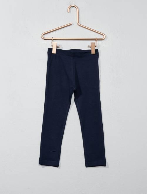 Legging stretch                                                                                                                                                                                                                                                                             bleu foncé