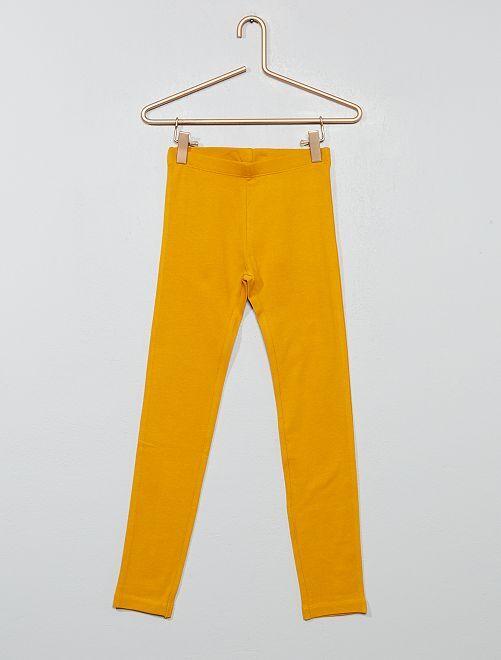 Legging stretch                                                                                                                                                                                                                                                                             jaune
