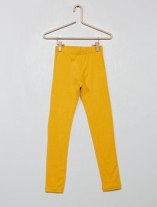Legging stretch                                                                                                                                                                                                                                                                                         jaune moutarde