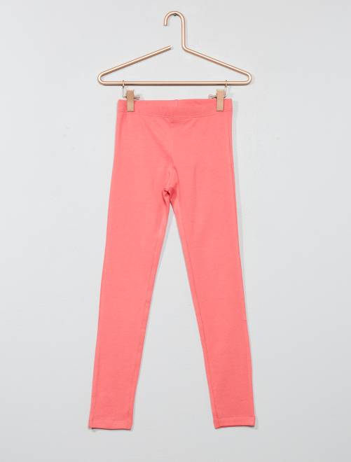 Legging stretch                                                                                                                                                                                                                                                     rose Fille