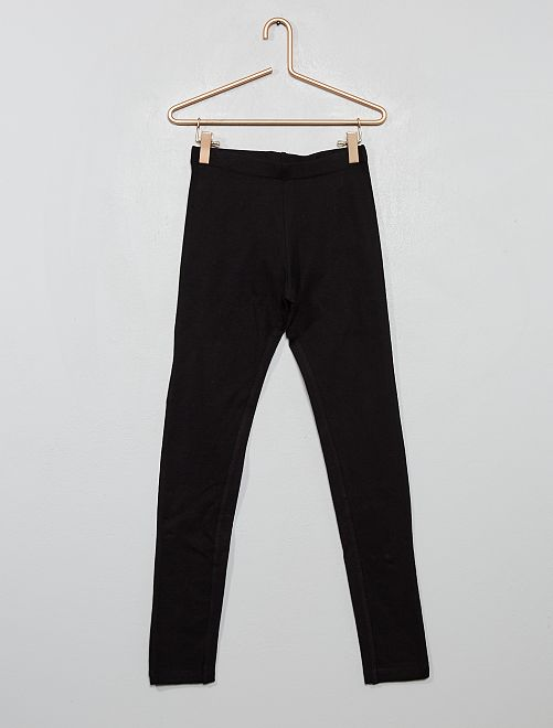 Legging stretch uni                                                     noir