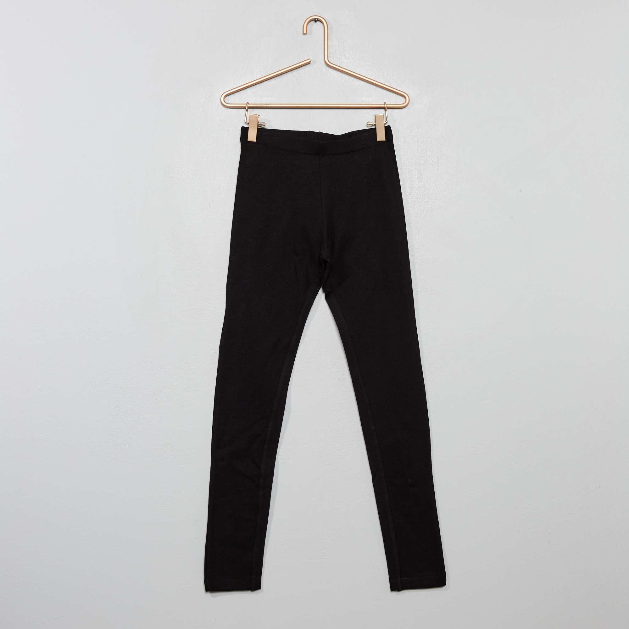 legging stretch uni fille adolescente kiabi 4 00. Black Bedroom Furniture Sets. Home Design Ideas