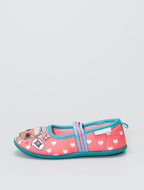Les chaussons ballerines des 'LOL Surprise'                             rose